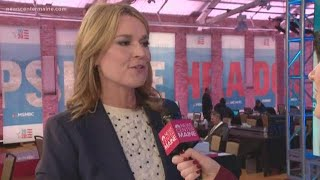 Savannah Guthrie has been to Maine only once—but she's heard about the food