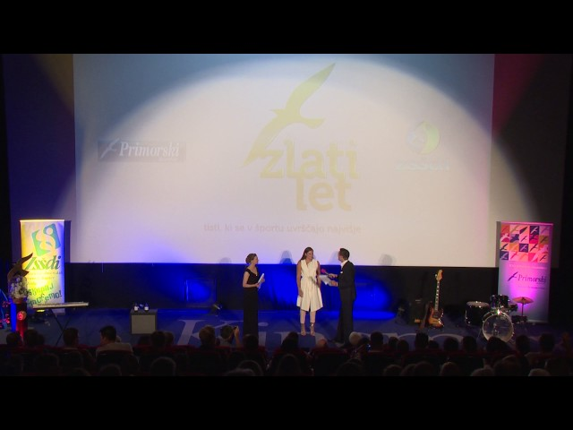 ZlatiLet 2017 Miss športa Slovenija Manca Šepetavc