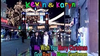 Kevin & Karyn - We Wish You a Merry Christmas (Official Music Video)
