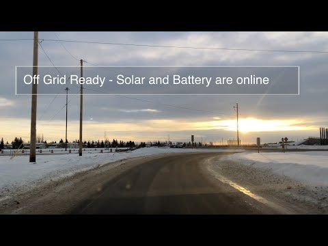 Off Grid Ready - Solar and Battery are still ONLINE