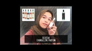 REVIEW PARFUM EVANGELINE || MURAH DAN WANGI TAHAN LAMA || THE BODY SHOP LEWAT || Delvi Tiara Sari