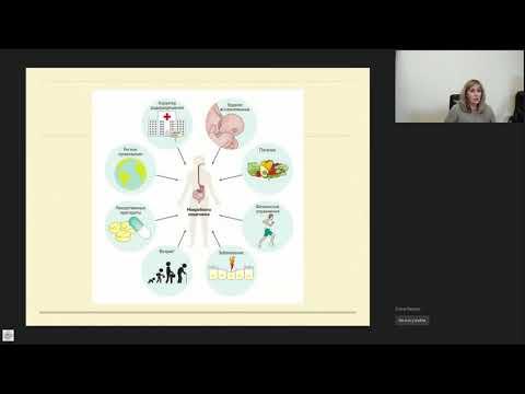 Вебинар Влияние микробиоты на возникновение и развитие хронических неинфекционных заболеваний