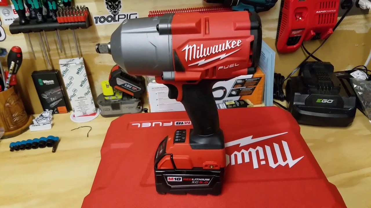 Milwaukee M18 Fuel Gen 2 1 In High Torque Impact Wrench 2767 20 Review