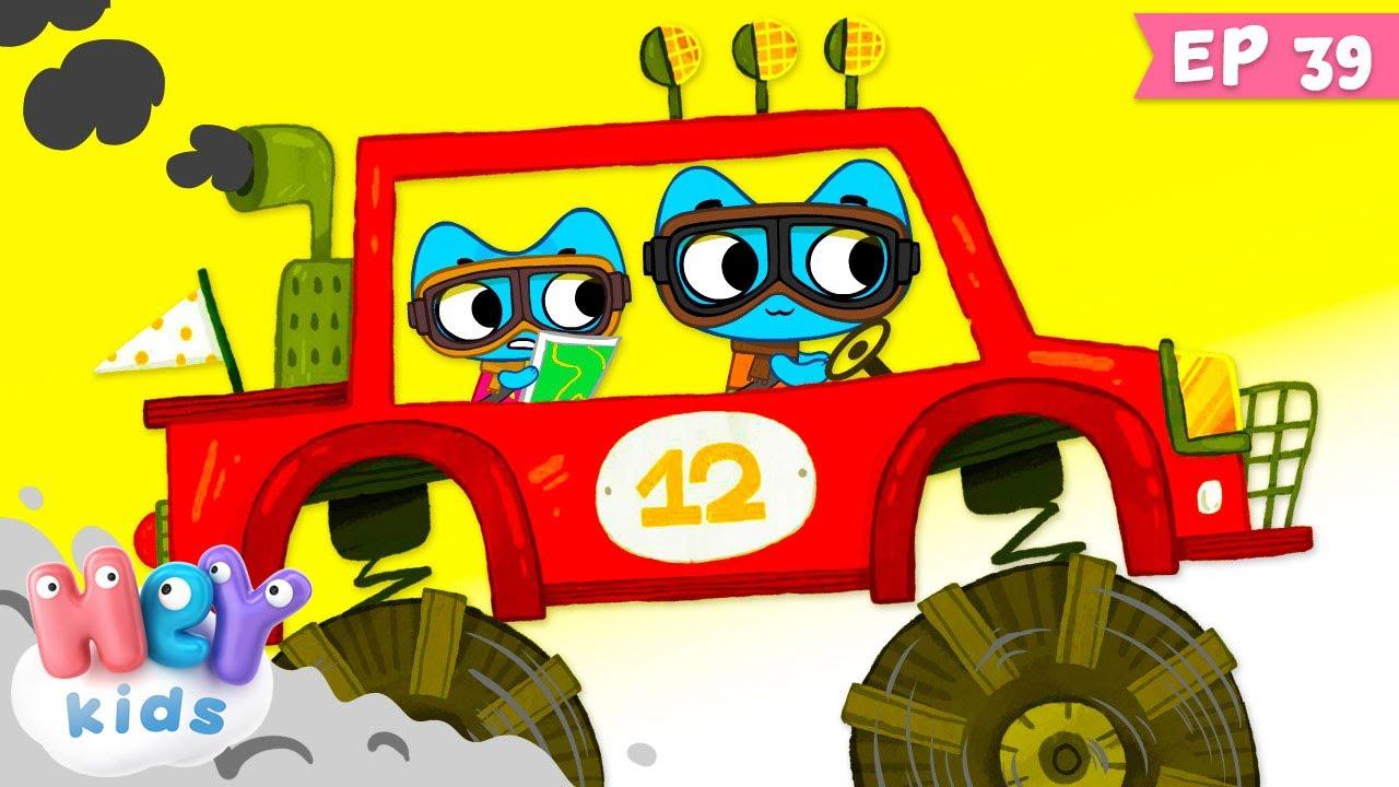 Kit și Keit: Și câștigătorul e...    Desene animate cu curse de masini   HeyKids