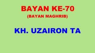 070 Bayan KH Uzairon TA Download Video Youtube|mp3