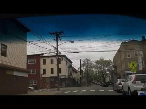 Driving in Jersey City, NJ (from by Liberty State Park to The Heights)