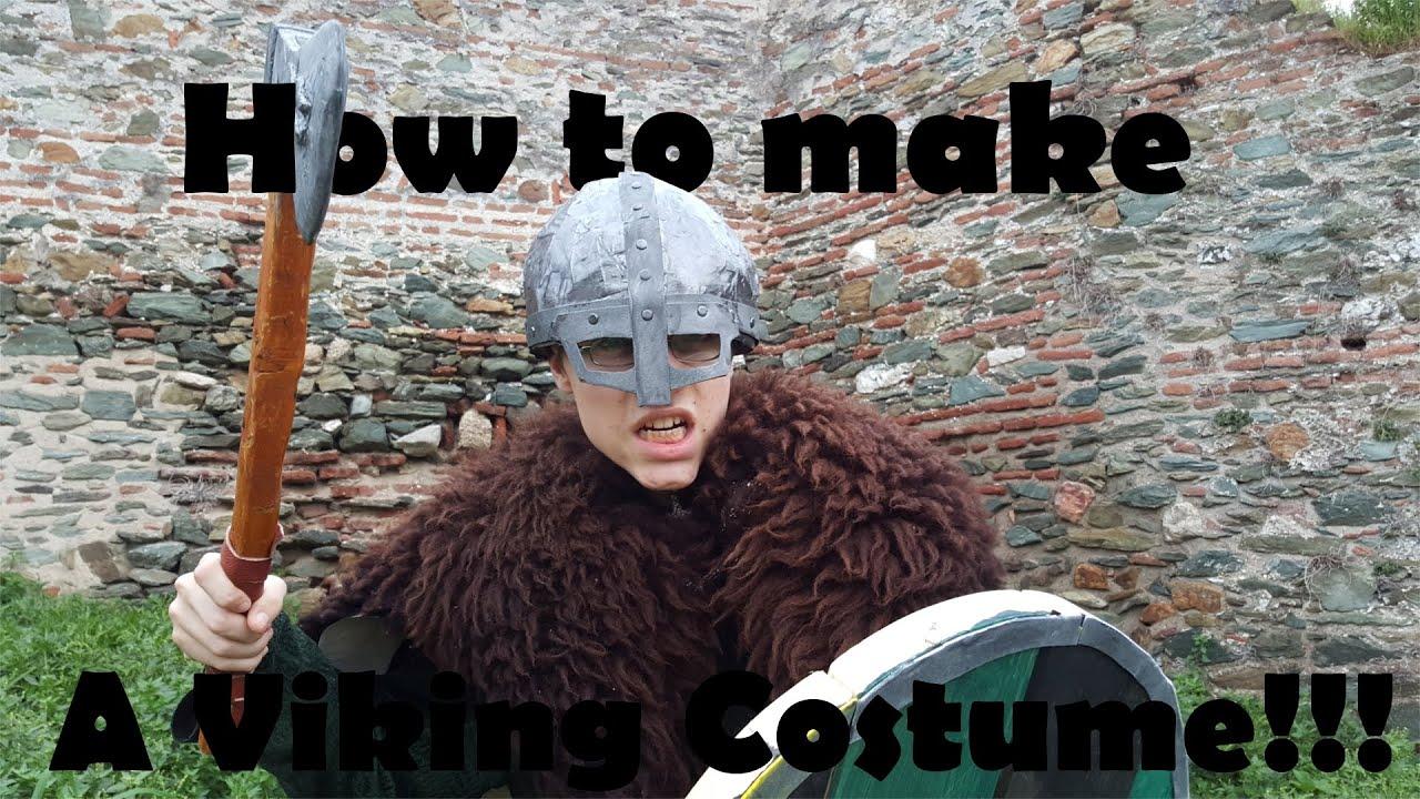 How to make a VIKING COSTUME
