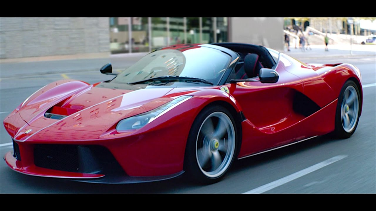laferrari aperta: best official car commercial ever? carjam tv hd