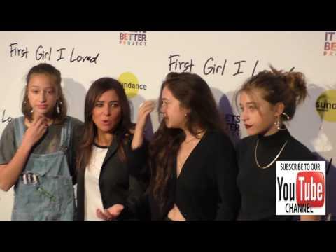 Pamela Adlon, Gideon Adlon, Rockie Adlon and Odessa Adlon at the Premiere Of PSH Collective's First
