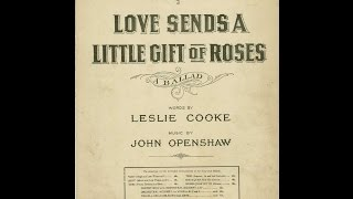Love Sends A Little Gift Of Roses (1919)