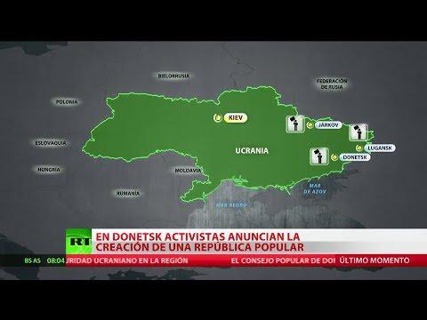 Ucrania: Se proclama la creación de la República Popular de Donetsk