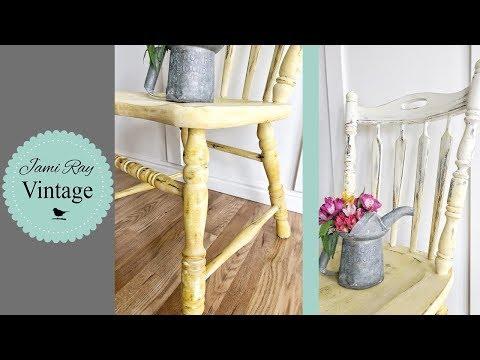 How To Ombré Paint Blend | Chippy Ombré Chair | Ombre