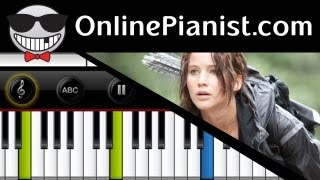 Birdy - Just A Game [The Hunger Games Soundtrack] - Piano Tutorial