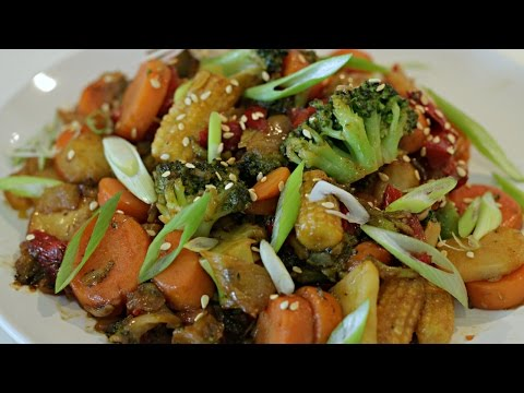 Frozen Vegetable Stir Fry You Can Cook In 5 Minutes