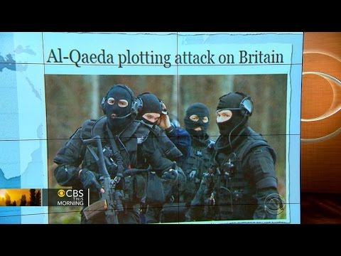 Headlines: MI5 warns al Qaeda planning Paris-style attack on U.K.
