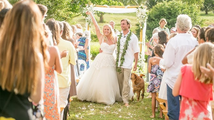 Soul Surfer Bethany Hamilton S Wedding Video In Kauai Hawaii Youtube