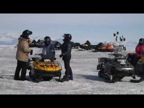 Antarctica snowmobile instructor & mechanic!