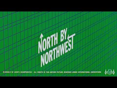 North By Northwest, 1959 – Opening Titles by Saul Bass