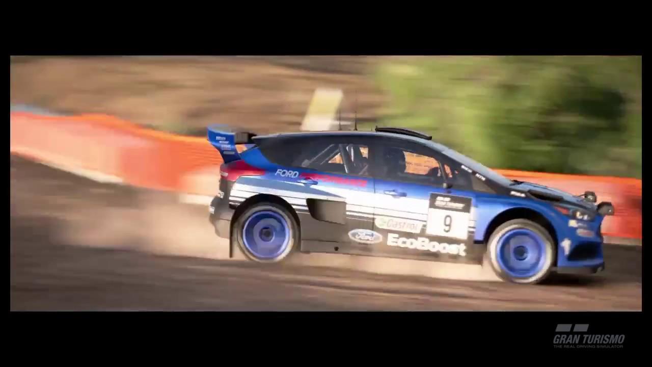 Gt Sport Ford Focus Gr B Rally Car