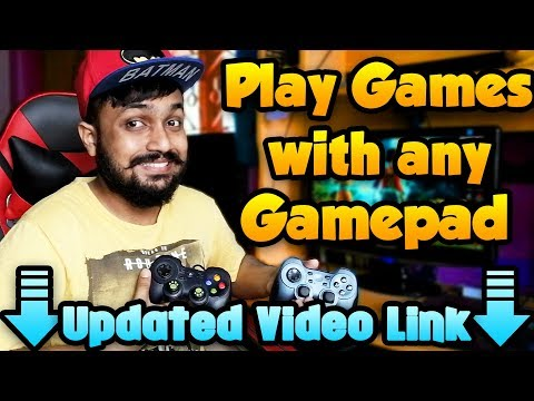 How To Play Any Games With pc or usb controller or gamepad (100%works)