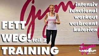 """15 Min. Functional Training """"fett weg"""" Workout 2 zum Abnehmen"""