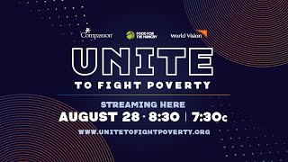 Unite To Fight Poverty – Live Concert Event