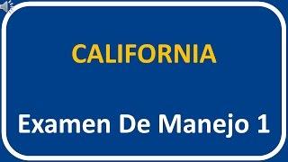 Examen De Manejo De California 1