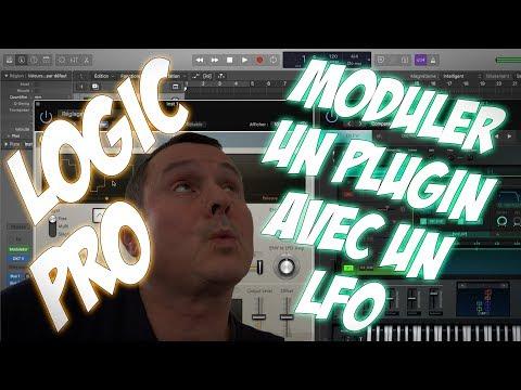 Logic Pro X: Moduler le paramètre d'un plugin avec un LFO ou une Enveloppe [Modulator]