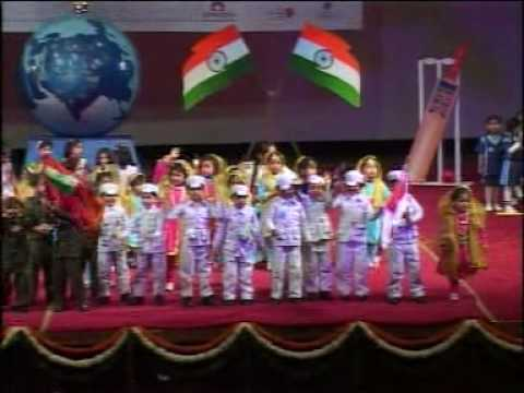 Mother's Pride School - Chak de India Dance Travel Video