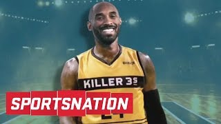 Can ice cube convince kobe bryant to play in big3 league? | sportsnation | espn