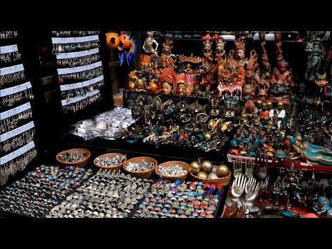 Shopping Market In Ubud, Bali, Indonesia