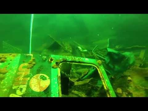 Micro DIY ROV - Second Dive - Abandoned Quarry - Aberdeenshire. Home Built Submarine Drone