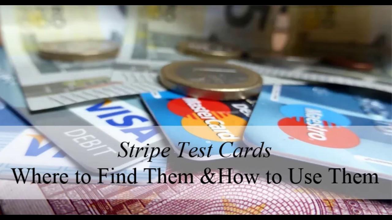 Stripe Test Cards