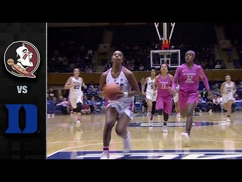Florida State vs. Duke Women's Basketball Highlights (2017-18)