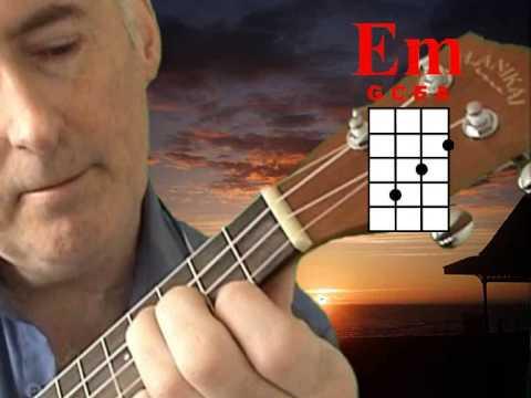 Timothy Plays the Em Chord on the Ukulele!