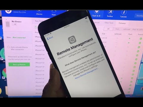 REMOVE AND BYPASS APPLE MDM SCREEN IOS 13 IPHONE IPAD