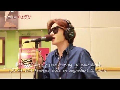 BTOB Changsub With me ENG SUB 비투비 이창섭 커버 노래 가사  휘성 changsub at the end singing live cover