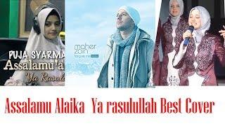 Assalamu Alaika Ya Rasulullah top 5 cover  | maher zain
