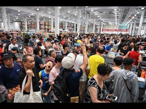 《石涛聚焦》「北美名店Costco 上海首家开业 猪肉 牛肉 奶粉被狂扫 半日关门」国人深深地爱着美国货 反美是因为美国人值得信任 不会乱来!网友:无限制退货 保证它一年内倒闭