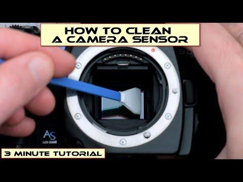 How to clean a camera sensor: Tutorial