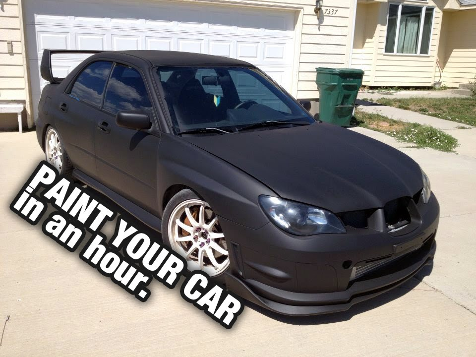 Paint Your Car In A Garage In 1 Hour, Dip Your Car!