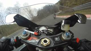 RAW   Suzuki GSX-R 600 K6   Nürburgring Nordschleife   Full Power