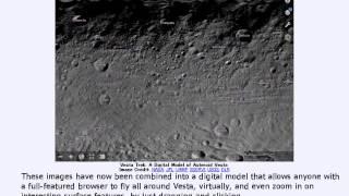 2015年 4月21日 「ベスタトレック:小惑星ベスタのデジタルモデル」-Astronomy Picture of the Day