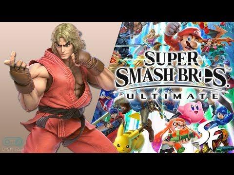 Ken Stage Street Fighter II Wii U  3DS - Super Smash Bros Ultimate Soundtrack