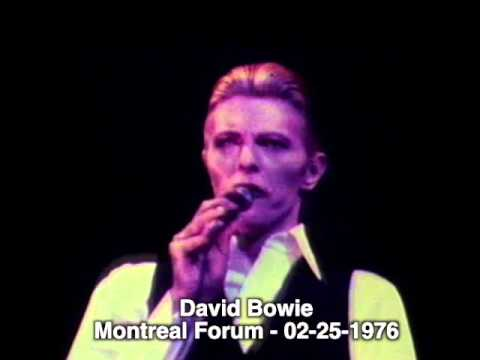 David Bowie - Montreal Forum - 02-25-1976