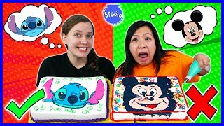 Download DISNEY CAKE CHALLENGE! Learn How To Do DIY Cake Art Mp3 and Videos