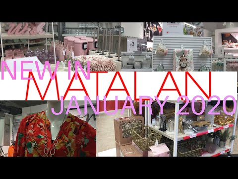 MATALAN Come Shop with Me 🥳🥳 | Sale & New Collections | Fashion & Home Decor | January 2020