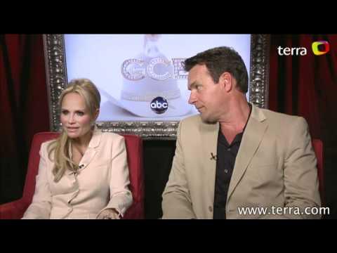GCB: Exclusive  with David James Elliot & Kristin Chenoweth