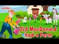 Old MacDonald had a Farm with Lyrics | English Rhyme | Rhymes for Kids | Animated Rhymes