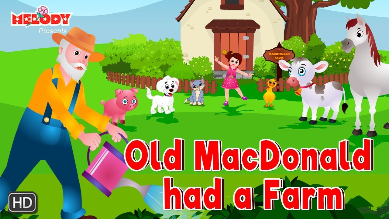 old macdonald had a farm lyrics english
